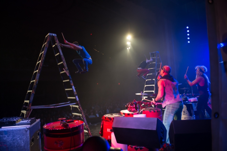 Recycled Percussion - Las Vegas' #1 interactive show!